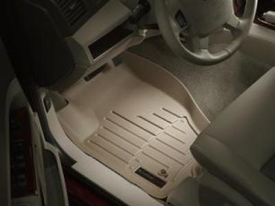 Коврики в салон 3D WeatherTech для автомобиля Jeep Grand Cherokee  2004-2010 , комплект: 3 шт.