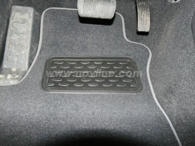 Коврики в салон (Novline) для Jeep Grand Liberty 2007-н.в., 4 шт. (текстиль, чёрные, серые, бежевые)