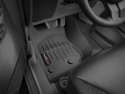 Коврики в салон 3D WeatherTech для автомобиля Jeep Wrangler Unlimited  2006-н.в., комплект: 3 шт.