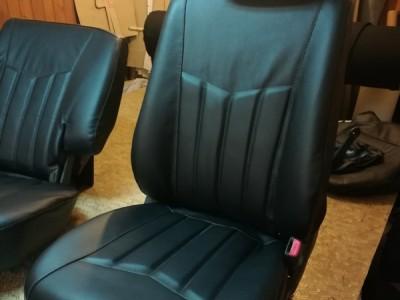 Оригинальные модельные чехлы на сидения для автомобиля Ssang Yond Kyron 2005-н.в., (материал: твид, кожзам; любые тона)