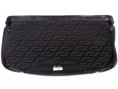 Коврик в багажник Locker для Audi A1 (8X) 2010-2014, 1 шт. (полиуретан; чёрный)
