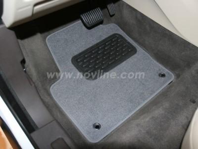 Коврики в салон (Novline) для Land Rover Range Rover Evoque 2011-н.в., 4 шт. (текстиль, чёрные, серые, бежевые)
