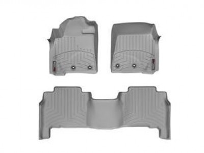 Коврики в салон 3D WeatherTech для автомобиля Lexus LX 2012-2015, комплект: 3 шт.