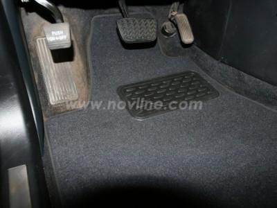 Коврики в салон (Novline) для Lexus RX 350 2003-2009, 4 шт. (текстиль, чёрные, серые, бежевые)