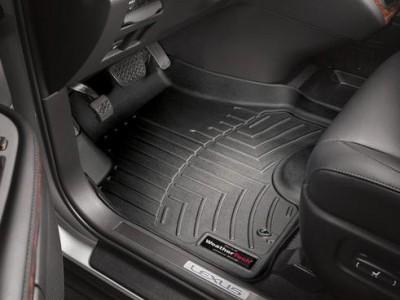 Коврики в салон 3D WeatherTech для автомобиля Lexus RX 2003-2009 , комплект: 3 шт.