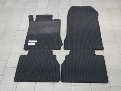 Коврики салона рипсовые цвет антрацит для Мерседес E class W210 1995-1999, 4 шт.