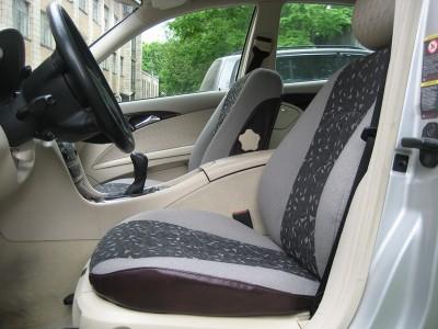 Оригинальные модельные чехлы на сидения для автомобиля Mercedes Sprinter 1+1/ 1+2/ 9  1996-н.в. (материал: твид, кожзам; любые тона)
