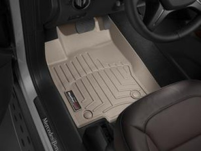 Коврики в салон 3D WeatherTech для автомобиля Mercedes GLE-Klasse C292 2015-н.в., комплект: 3 шт.