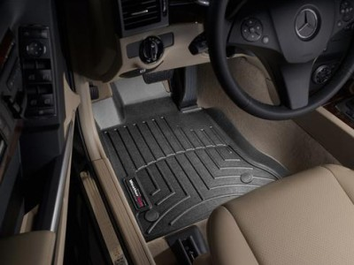 Коврики в салон 3D WeatherTech для автомобиля Mercedes GLK-Klasse X204 2012-2015, комплект: 4 шт.