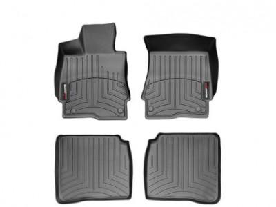 Коврики в салон 3D WeatherTech для автомобиля Mercedes S-Klasse W221 2005-2013, комплект: 4 шт.