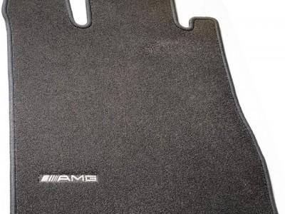 AMG коврики салона велюровые антрацит для Мерседес ML class W163 1998-2005, 4 шт.