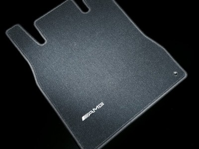 AMG коврики салона велюровые антрацит для Мерседес GL class X164 2006-2012, ML class W164 2005-2011, 4 шт, 1 шт.