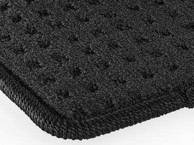 Коврики салона велюровые чёрные для Мерседес GL class X164 2006-2012, ML class W164 2005-2011, 4 шт.