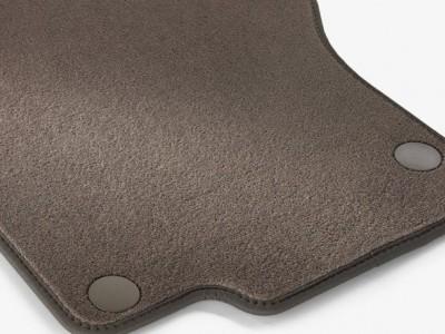 Коврики салона велюровые цвет Ява тёмный для Мерседес GL class X164 2006-2012, ML class W164 2005-2011, 4 шт.