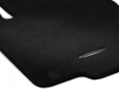 Коврики салона велюровые черные для Мерседес GL class X166 2012-2015, ML class W166 2011-2015, GLE class C292 2015-н.в., 4 шт.