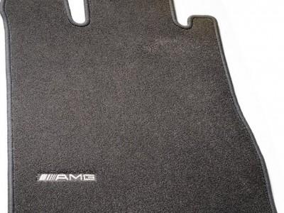 AMG коврики салона велюровые антрацит для Мерседес A class W169 2004-2012, 4 шт, 1 шт.