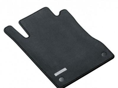 Коврики салона велюровые чёрные для Мерседес A class W169 2004-2012, 4 шт.