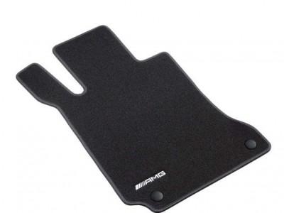 AMG коврики салона велюровые черные для Мерседес CLS class C218 X218 2011-н.в., E class W212 2009-н.в., 1 шт, 4 шт.