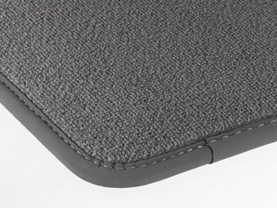 Коврики салона велюровые цвет Серый базальт для Мерседес S class W221 2005-2013, 4 шт.