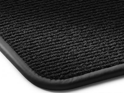Коврики салона велюровые черные окантовка кожа. для Мерседес Maybach W240 2002-н.в., 4 шт.