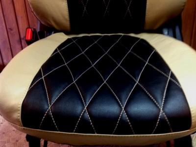 Оригинальные модельные чехлы на сидения для автомобиля Alfa Romeo 156 1997-2007 (материал: твид, кожзам; любые тона)
