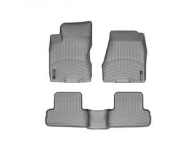 Коврики в салон 3D WeatherTech для автомобиля Nissan Qashqai 2006-2013, комплект: 3 шт.