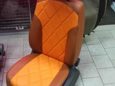 Оригинальные модельные чехлы на сидения для автомобиля Volkswagen Passat B6 2005-2010 (материал: твид, кожзам; любые тона)