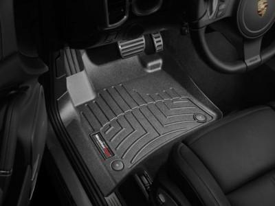 Коврики в салон 3D WeatherTech для автомобиля Porsche Cayenne  2010-2015, комплект: 3 шт.