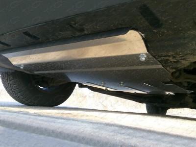 Защита картера (TCC) для Audi Q5 2008-2016, (алюминий) 4 мм