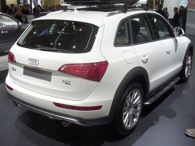 Штатные пороги (OEM) (Китай) для Audi Q5 2008-2016