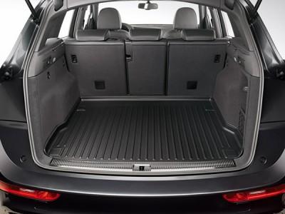 Коврик в багажник для Audi Q5 2008-2016, (оригинал) (VAG) (Germany)