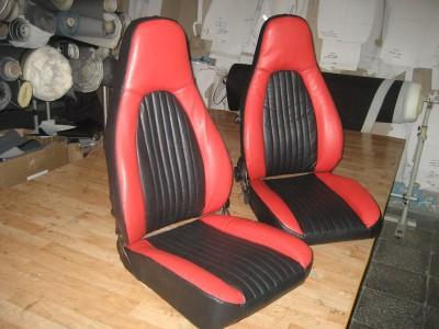 Оригинальные модельные чехлы на сидения для автомобиля Opel Vectra A седан/ хэтчбек/ универсал 1988-1995 (материал: твид, кожзам; любые тона)