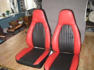 Оригинальные модельные чехлы на сидения для автомобиля Mitsubishi Lancer IX 2003-2007 (материал: твид, кожзам; любые тона)