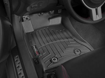 Коврики в салон 3D WeatherTech для автомобиля Toyota GT86 2011-н.в., комплект: 2 шт.
