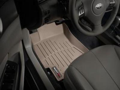 Коврики в салон 3D WeatherTech для автомобиля Subaru Forester III 2008-2013, комплект: 3 шт.
