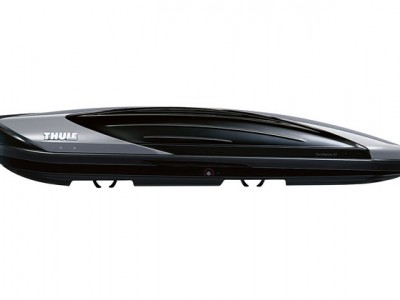 Бокс автомобильный Thule Excellence XT (218х94х40 см.) (Швеция) цвет: чёрный глянцевый/ титановый металлик, титановый металлик/ чёрный глянцевый