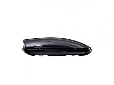 Бокс автомобильный Thule Motion M (175х86х46 см.) (Швеция) цвет: чёрный глянцевый, серебро глянцевый