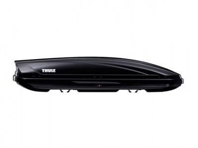 Бокс автомобильный Thule Motion Sport (190х67х42 см.) (Швеция) цвет: чёрный глянцевый, серебро глянцевый