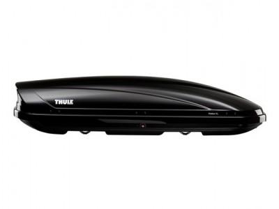 Бокс автомобильный Thule Motion XL (205х84х44 см.) (Швеция) цвет: чёрный глянцевый, серебро глянцевый, белый