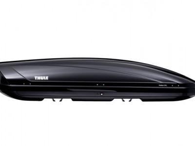 Бокс автомобильный Thule Motion XXL (235х94х47 см.) (Швеция) цвет: чёрный глянцевый, серебро глянцевый