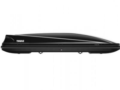 Бокс автомобильный Thule Touring Alpine (232х70х42 см.) (Швеция) цвет: чёрный глянцевый, титановый