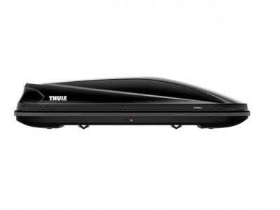 Бокс автомобильный Thule Touring Touring L (196х78х43 см.) (Швеция) цвет: чёрный глянцевый, титановый, антрацит