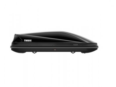 Бокс автомобильный Thule Touring Touring M (175х82х45 см.) (Швеция) цвет: чёрный глянцевый, титановый, антрацит