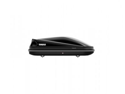Бокс автомобильный Thule Touring Touring S (139х90х40 см.) (Швеция) цвет: чёрный глянцевый, титановый