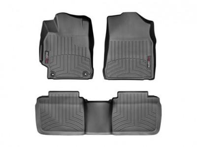 Коврики в салон 3D WeatherTech для автомобиля Toyota Camry 2011-2014, комплект: 3 шт.