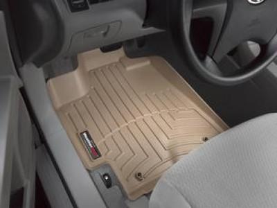 Коврики в салон 3D WeatherTech для автомобиля Toyota Highlander 2007-2013 , комплект: 3 шт.