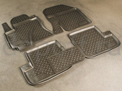 Коврики в салон для Toyota RAV4  2003-2005, 4 шт. (полиуретан) Norplast
