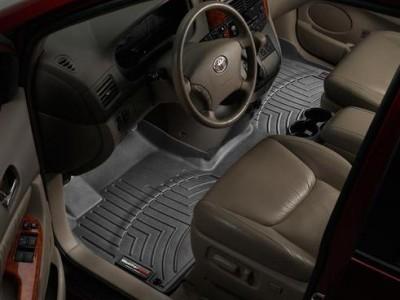 Коврики в салон 3D WeatherTech для автомобиля Toyota Sienna 2003-2010 , комплект: 2 шт. или 3 шт.