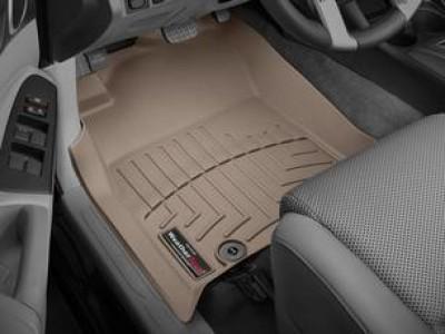 Коврики в салон 3D WeatherTech для автомобиля Toyota Tacoma Double Cab 2011-н.в., комплект: 3 шт.