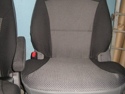 Оригинальные модельные чехлы на сидения для автомобиля Fiat Scudo 1996-2006 (материал: твид, кожзам; любые тона)
